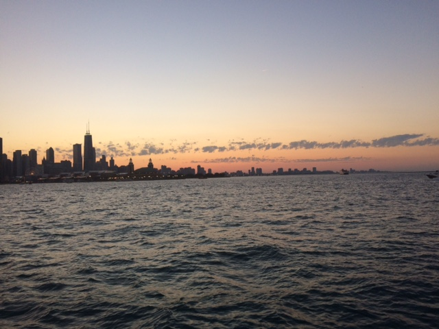 Chicago view by water